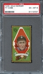 1911 T205 Gold Border Ty Cobb PSA 6 EX/MT