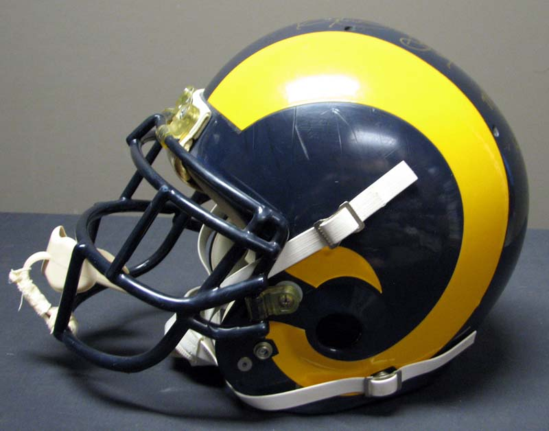 1985 Eric Dickerson Los Angeles Rams Game-Used and Signed Helmet With Team  LOA ... a27a1e62c