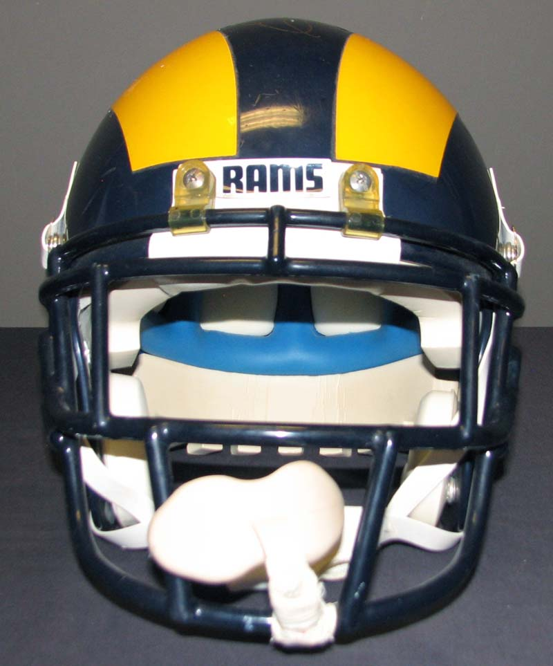 ... 1985 Eric Dickerson Los Angeles Rams Game-Used and Signed Helmet With  Team LOA ... a28b5feee