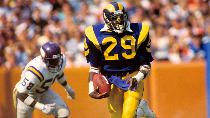 ... 1985 Eric Dickerson Los Angeles Rams Game-Used and Signed Helmet With  Team LOA 152fd0f68
