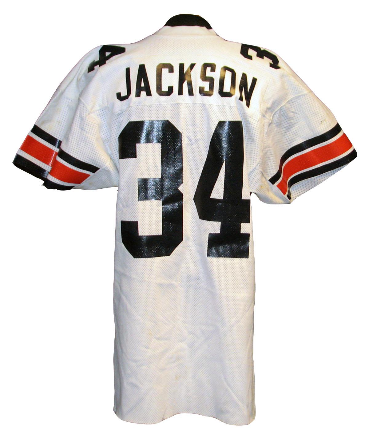 Lot Detail - 1980s Bo Jackson Auburn Tigers Game-Used Jersey 5e27c1fb6