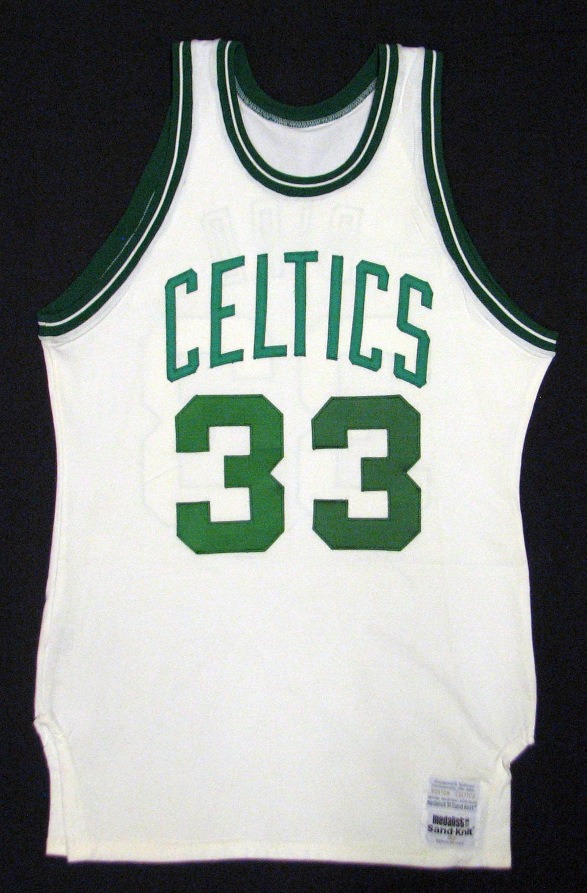 game worn jersey, Boston Celtics, Larry Bird