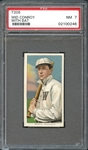 1909-11 T206 Sweet Caporal 350/30 Wid Conroy With Bat PSA 7 NM