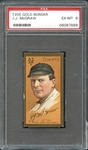 1911 T205 Gold Border J.J. McGraw PSA 6 EX/MT
