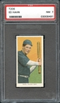 1909-11 T206 Sweet Caporal 350/30 Ed Hahn PSA 7 NM