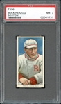 1909-11 T206 Sweet Caporal 350-460/30 Buck Herzog Boston PSA 7 NM