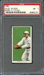 1909-11 T206 Piedmont 350/25 Chief Meyers Myers Fielding PSA 7 NM