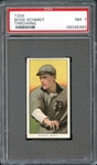 1909-11 T206 Sweet Caporal 150/649 Boss Schmidt Throwing PSA 7 NM