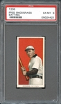 1909-11 T206 Sweet Caporal 350/30 Fred Snodgrass Batting PSA 6 EX/MT