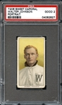 1909-11 T206 Walter Johnson Portrait PSA 2 GOOD
