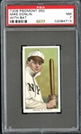 1909-11 T206 Piedmont 350 Mike Donlin With Bat PSA 7 NM