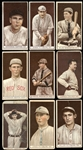 1912 T207 Brown Background Group of (26)