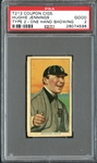 T213 Coupon Cigarettes Hughie Jennings One Hand Showing PSA 2 GOOD
