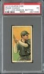 T213 Coupon Cigarettes Franck Chance Batting PSA 1 PR