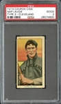 T213 Coupon Cigarettes Nap Lajoie Cleveland PSA 2 GOOD