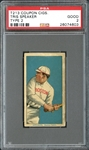 T213 Coupon Cigarettes Tris Speaker PSA 2 GOOD