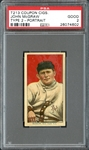 T213 Coupon Cigarettes John McGraw Portrait PSA 2 GOOD