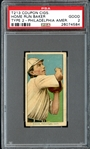 T213 Coupon Cigarettes Home Run Baker PSA 2 GOOD