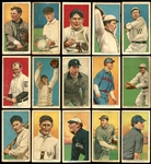 1914-16 T213 Coupon Cigarettes Type 2 Group of (15) Cards with HOFers