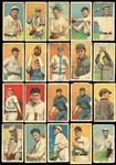 1914-16 T213 Coupon Cigarettes Type 2 Group of (21) Cards