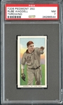 1909-11 T206 Piedmont 350 Rube Waddell Throwing PSA 7 NM