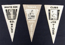 1916 BF2 Ferguson Bakery Felt Pennant Group of (3)