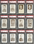 1923-24 V145-1 William Paterson Complete Set #2 Current Finest on PSA Set Registry