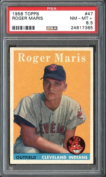 vintage baseball cards, Roger Maris