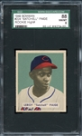 1949 Bowman #224 Satchell Paige SGC 88 NM/MT 8