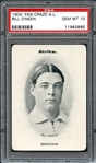 1904 Fan Craze A.L. Bill Dineen PSA 10 GEM MINT