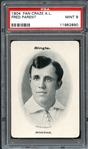1904 Fan Craze A.L. Fred Parent PSA 9 MINT