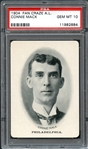 1904 Fan Craze A.L. Connie Mack PSA 10 GEM MINT