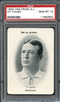 1904 Fan Craze A.L. Cy Young PSA 10 GEM MINT