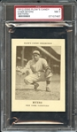 1912 E300 Plows Candy Chief Meyers PSA 7 NM