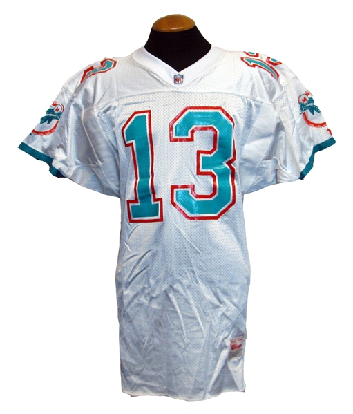 best service cc0ee 08558 Lot Detail - 1990s Dan Marino Miami Dolphins Game-Used and ...