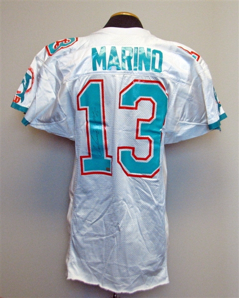 best service 96a3f b3be9 Lot Detail - 1990s Dan Marino Miami Dolphins Game-Used and ...