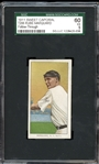 1911 Sweet Caporal T206 Rube Marquard Follow-Through SGC 60 EX 5