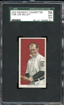 1910 Piedmont Cigarettes T206 Joe Kelley SGC 70 EX+ 5.5