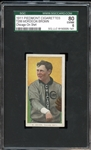 1911 Piedmont Cigarettes T206 Mordecai Brown SGC 80 EX/NM 6