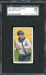 1911 Sweet Caporal T206 Hugh Duffy SGC 80 EX/NM 6