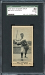 1916 M101-5 Sporting News Blank Back #86 Joe Jackson SGC 80 EX/NM 6