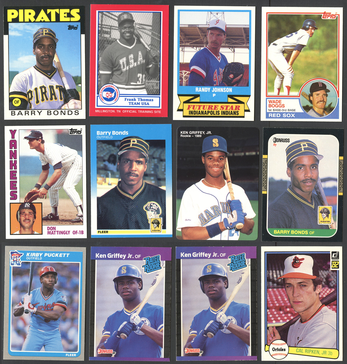 1970-90s Rookie Card Group Of (119) Including