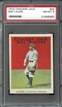 1915 Cracker Jack #66 Nap Lajoie PSA 8 NM/MT