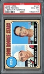 1968 Topps #247 Johnny Bench Rookie PSA 10 GEM MINT