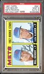 1967 Topps #581 Tom Seaver PSA 9 Also PSA/DNA 9 MINT