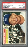 1956 Topps #135 Mickey Mantle PSA 8.5 NM/MT+