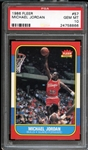 1986 Fleer #57 Michael Jordan PSA 10 GEM MINT