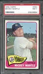 1965 Topps #350 Mickey Mantle PSA 7 NM