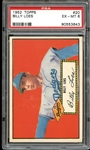 1952 Topps #20 Billy Loes PSA 6 EX/MT
