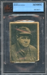 1931 W517 #20 Babe Ruth Portrait BVG Authentic